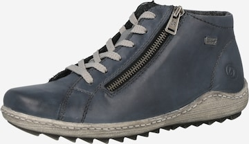 Chaussure de sport à lacets REMONTE en bleu