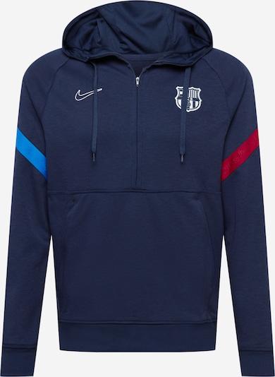 NIKE Športová mikina 'FC Barcelona' - námornícka modrá / nebesky modrá / červená / biela, Produkt