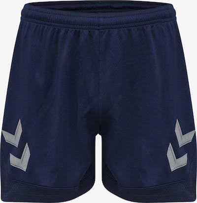 Hummel Sporthose 'Poly' in marine / hellgrau, Produktansicht