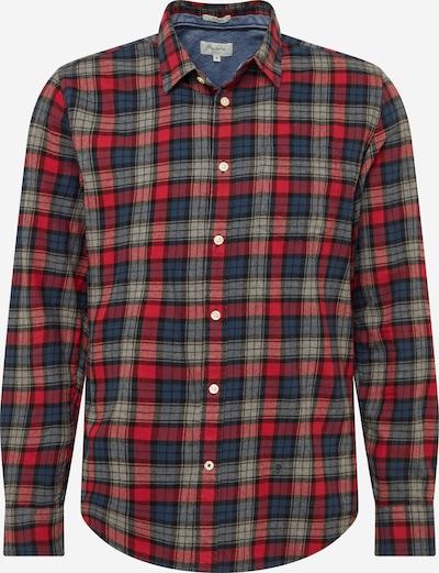 Pepe Jeans Hemd 'Telford' in blau / rot, Produktansicht