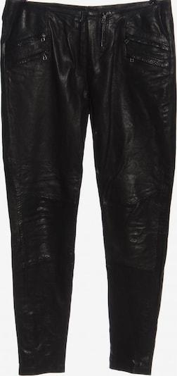 2NDDAY Lederhose in L in schwarz, Produktansicht