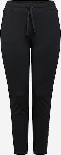 Only Play Curvy Pantalon de sport 'NYLAH' en noir / blanc, Vue avec produit