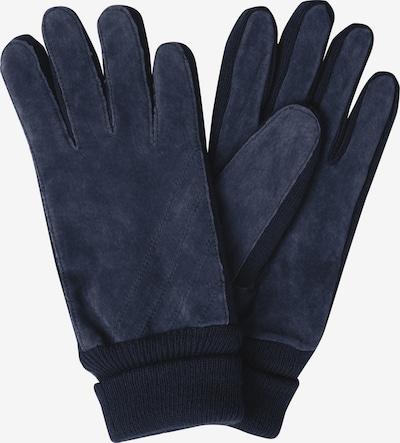SAMAYA Lederhandschuhe 'VELOUR-THINSULATE' in blau, Produktansicht