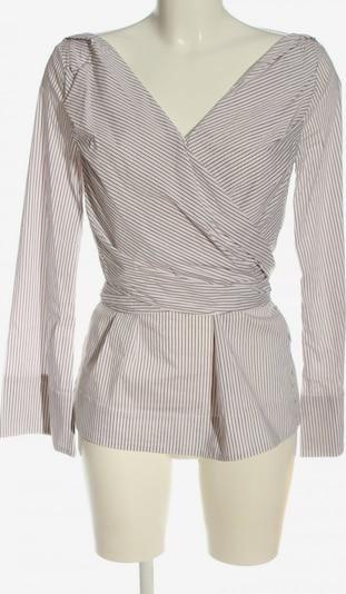 Dorothee Schumacher Langarm-Bluse in S in braun / wollweiß, Produktansicht