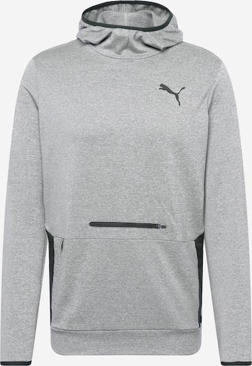 PUMA Sportpullover in graumeliert / schwarz, Produktansicht