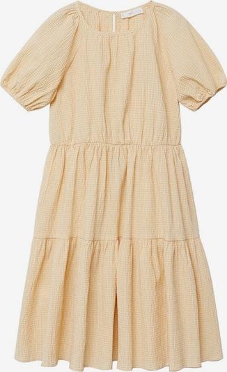 MANGO KIDS Kleid ohio in gelb, Produktansicht