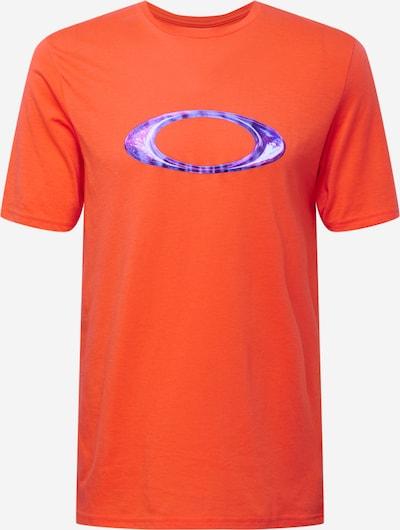 Sportiniai marškinėliai iš OAKLEY, spalva – purpurinė / tamsiai violetinė / oranžinė / balta, Prekių apžvalga