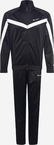 melns Champion Authentic Athletic Apparel Sporta tērps
