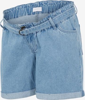 MAMALICIOUS Jeans 'Barka' in Blue