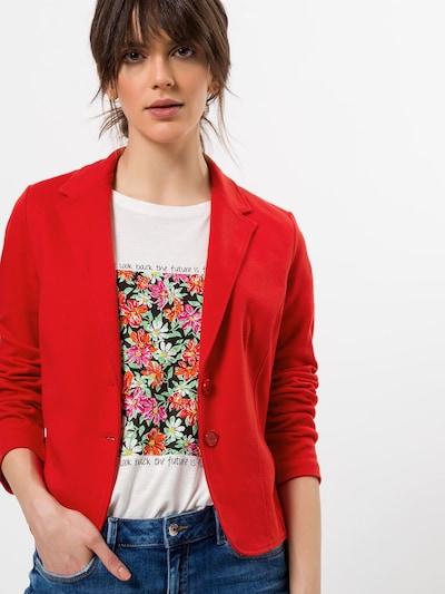 zero Blazer in rot, Modelansicht