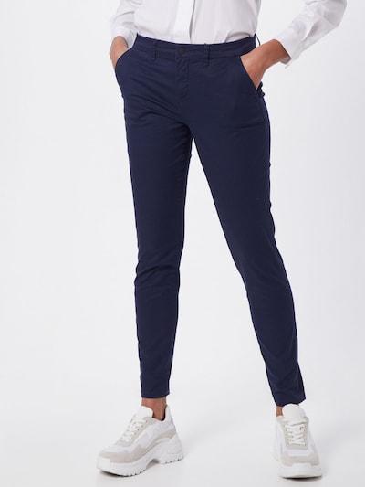 ONLY Chino trousers 'ONLPARIS REG CHINO PANTS PNT' in Blue, View model