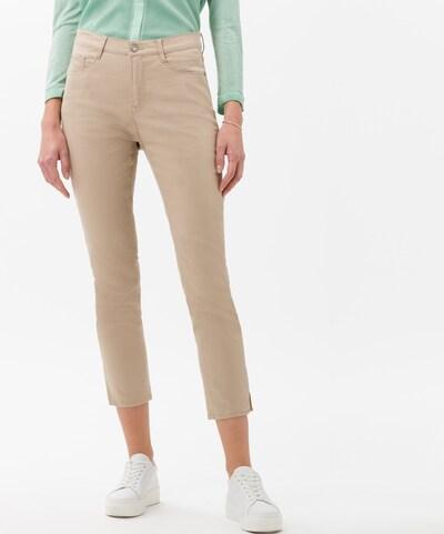 BRAX Jeans 'Caro' in cappuccino, Modelansicht