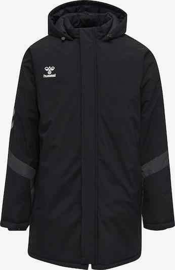 Hummel Sportjas in de kleur Grijs / Zwart / Wit, Productweergave