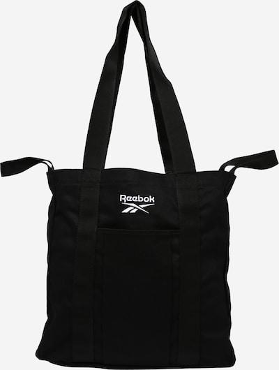 Reebok Classic Shoppingväska i svart / vit, Produktvy