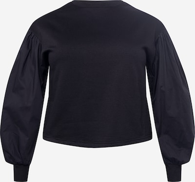 Bluză de molton 'LILI' Vero Moda Curve pe negru, Vizualizare produs