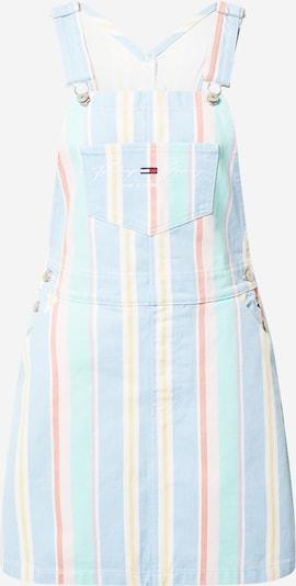 Tommy Jeans Laclová sukně - světlemodrá / světle žlutá / světle fialová / světle červená / bílá, Produkt