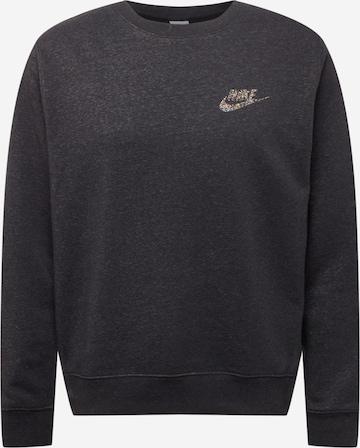 Nike Sportswear Sweatshirt in Schwarz