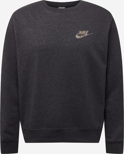 Nike Sportswear Sweatshirt in mischfarben / schwarzmeliert, Produktansicht