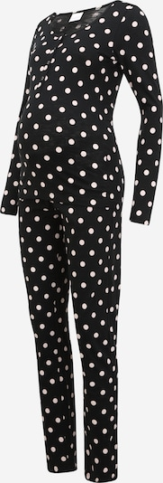 MAMALICIOUS Pajama 'CHILL' in Black / White, Item view