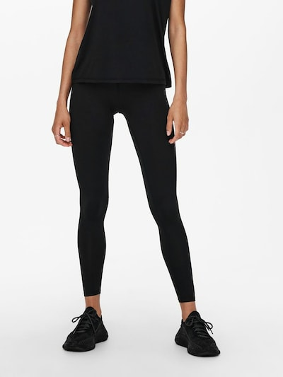 ONLY PLAY Workout Pants in Black, View model