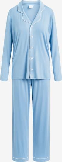 CCDK Copenhagen Pyjama 'Joy' in himmelblau / weiß, Produktansicht