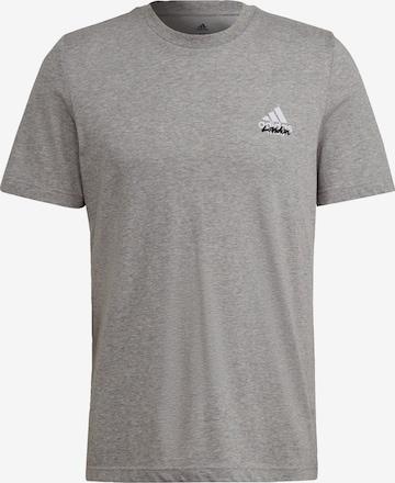 ADIDAS PERFORMANCE T-Shirt in Grau