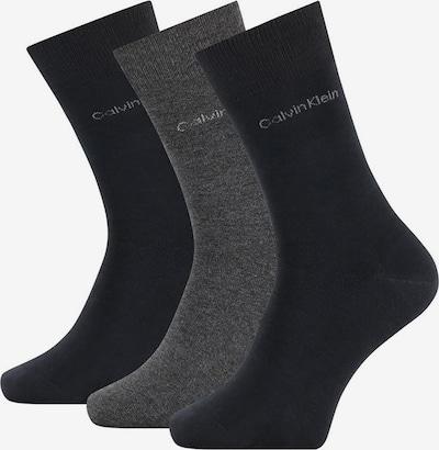 Calvin Klein Underwear Herren Socken 3er Pack - Logo, One Size in grau / schwarz, Produktansicht