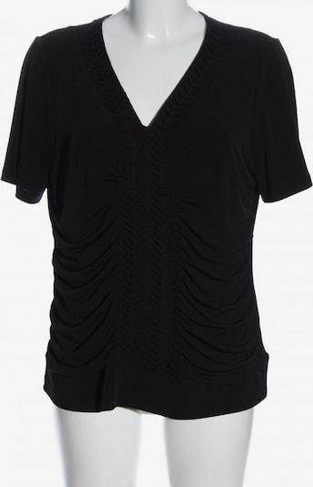 Cosima Kurzarm-Bluse in XXL in schwarz, Produktansicht