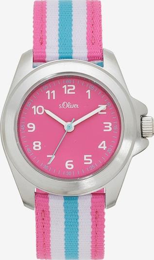 s.Oliver Uhr in blau / weiß, Produktansicht