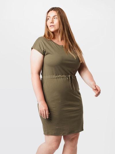 világoszöld Vero Moda Curve Ruha 'April', Modell nézet