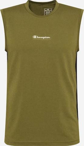Champion Authentic Athletic Apparel Функционална тениска в зелено