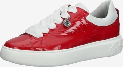 PETER KAISER Sneaker in rot / weiß, Produktansicht