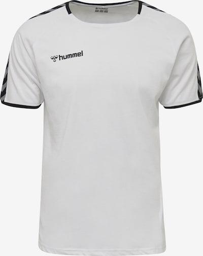 Hummel T-Shirt in grau / schwarz / weiß, Produktansicht