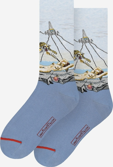 MuseARTa Socken in blau / mischfarben, Produktansicht
