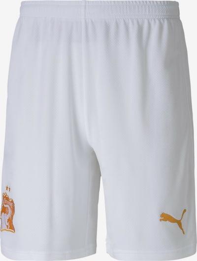 PUMA Sporthose 'Elfenbeinküste' in orange / weiß, Produktansicht
