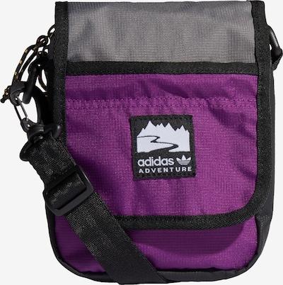 ADIDAS ORIGINALS Tasche in grau / aubergine / schwarz, Produktansicht