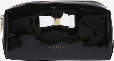 Ted Baker Cosmetic bag 'Halsey' in Black / White, Item view