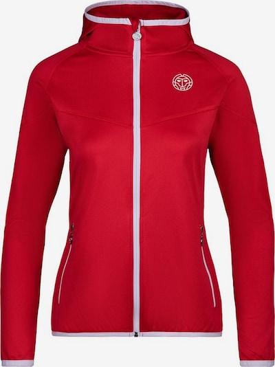 BIDI BADU Tennisjacke 'Inga Tech Jacket' in rot, Produktansicht