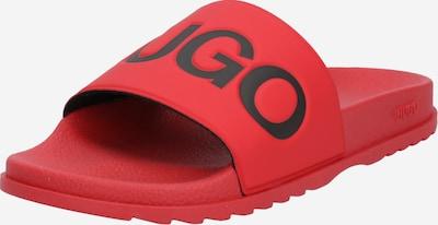 Saboți 'Match' HUGO pe roșu, Vizualizare produs