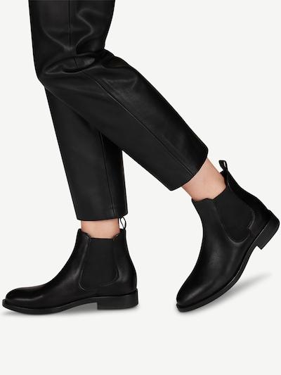 TAMARIS Chelsea Boots en noir: Vue de face