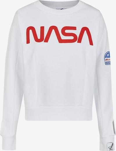 Course Sweatshirt in weiß, Produktansicht