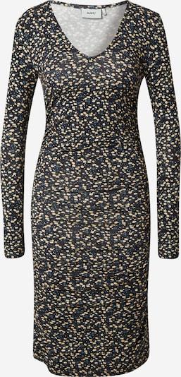 Moves Kleid in beige / rauchblau / gelb / schwarz, Produktansicht