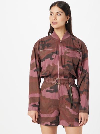 DIESEL Overal 'ASTRID' - pitaya / tmavoružová / čierna, Model/-ka