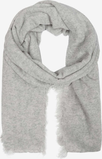 Zwillingsherz Sjaal in de kleur Lichtgrijs, Productweergave