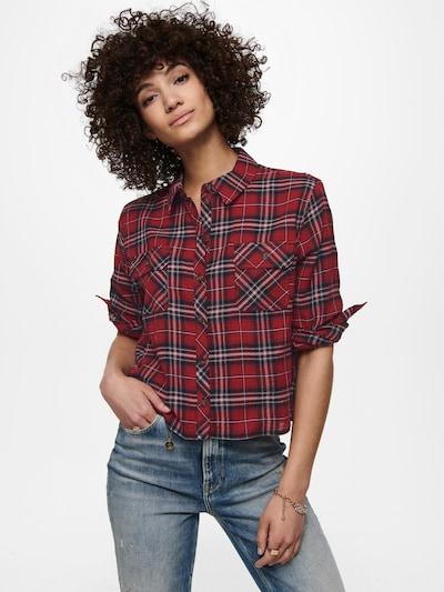 ONLY Hemd 'ONLSANDRA' in rot, Modelansicht