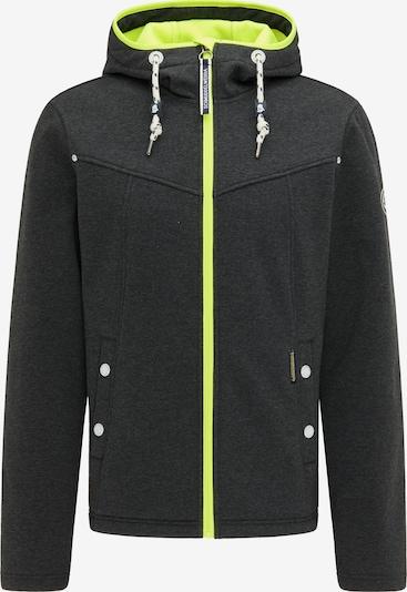 Schmuddelwedda Functionele jas in de kleur Donkergrijs / Neongroen, Productweergave