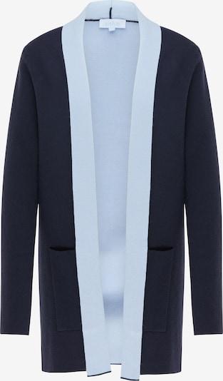 usha BLUE LABEL Cardigan en bleu marine / bleu ciel, Vue avec produit