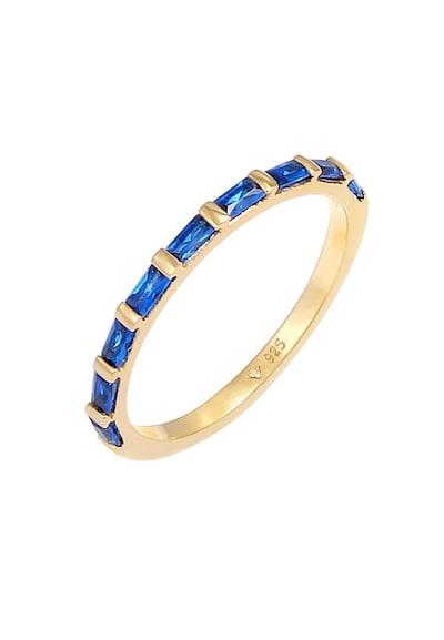 ELLI PREMIUM Ring in de kleur Blauw / Goud, Productweergave