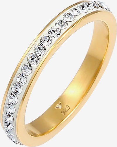 ELLI Ring Bandring, Kristall Ring in gold, Produktansicht