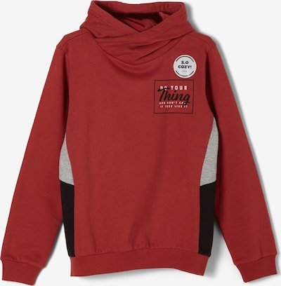 s.Oliver Hoodie in rot, Produktansicht
